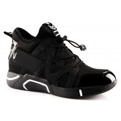 Sportowe botki sneakersy na...