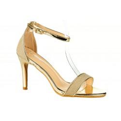 Sandały na szpilce 9,5 cm....